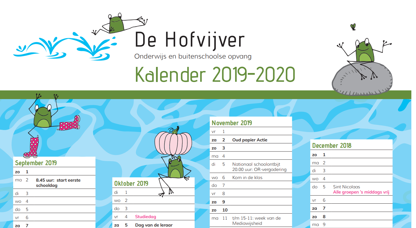 Kalender De Hofvijver